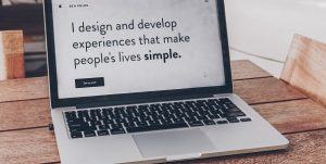 simple website design by fast forward websites