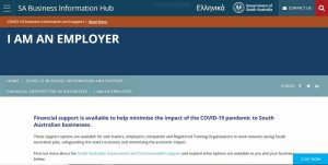 government assistance for employers
